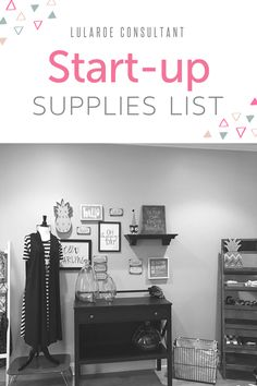 LuLaRoe consultant start up supplies list - LuLaRoe Kirsten Ott