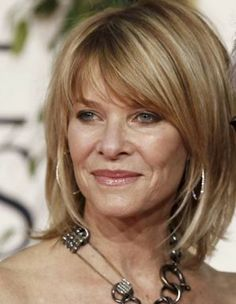 Kate Capshaw looking as radiant as ever. Love the hair. Love her. Stephen Spielberg county your blessings!