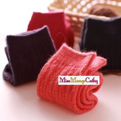 """Inner Peace"" 4 Pairs Womens Girls Socks Wool Blend Casual Cute Winter Warm Sox #Unbranded #Casual"