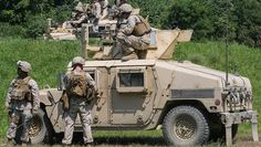 Aug 7, 2015 0 Fort A.P. Hill , Virginia - Marines with Support Company, 2nd Combat Engineer Battalion, fire M240B Machine Guns and M2 Browning .50-Caliber Machine Guns at targets of an unknown distance from the turrets of armored Humvees as part of a convoy live-fire range at Fort A.P. Hill, Virginia, Aug. 4, 2015. The company conducted the five-vehicle convoy in order to increase thei