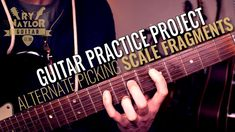 3 Note Per String Exercise Alternate Picking (Guitar Practice Project) Guitar Scale Patterns, Guitar Instructor, Guitar Notes, Guitar Scales, Backing Tracks, Rock Groups, Music Theory, Guitar Lessons, Music Stuff