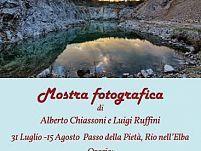 """""""Elba Nascosta"""" in mostra a Rio Elba   Alberto Chiassoni e Luigi Ruffini espongono al Passo della Pietà"""