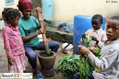 Cameroon's family life #Cameroon #237 #DazzlingCulture #UniqueLifeStyle