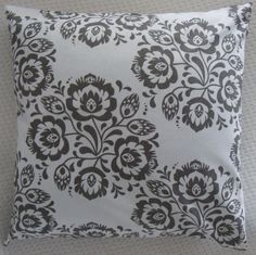 DECORATIVE PILLOW WITH FOLK PATTERN inspired by POLISH FOLK ART Lowicz cut-out