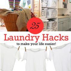 25 Laundry Hacks to make your life easier! howdoesshe.com