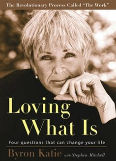 loving what is by byron katie..don't know if I agree with everything she writes but nonetheless an interesting perspective.