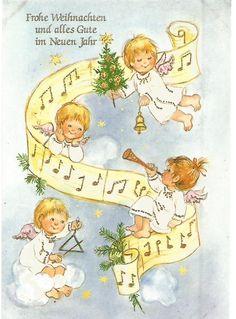 AK Postkarte - Weihnachten - Sü Verlag 962 - Singende Engel 2 • EUR 1,00…