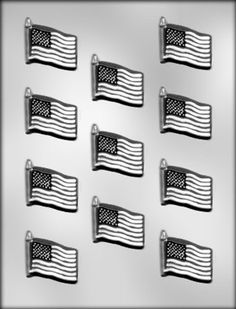 CK Products 158Inch Flag Chocolate Mold ** Visit the image link more details.