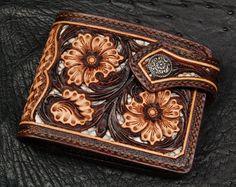 Beautiful inlay wallet