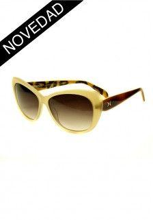 Gafas de sol beige Kiss