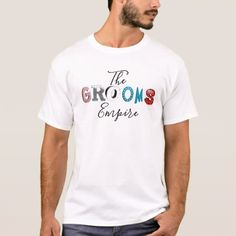 Shop Funny T-rex Dinosaur Bride and Groom Wedding Art T-Shirt created by inspirationrocks. Personalize it with photos & text or purchase as is! Personalized T Shirts, Custom Shirts, Casual T Shirts, Tee Shirts, Flower Girl Shirts, Yoga, Shirts With Sayings, Shirt Style, Fitness Models