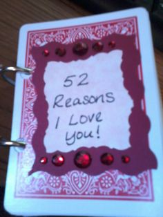 52 reasons why i love you template powerpoint - hand made gifts on pinterest things i love anniversary