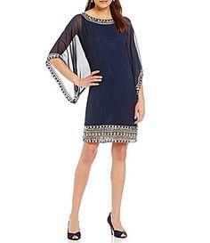 Jkara Beaded Sheath Dress #Dillards