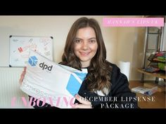 December LipSense Unboxing! - YouTube