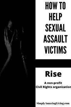 Rise is a multi-sector coalition of sexual assault survivors and allies working to empower all survivors with civil rights and to solve the criminal justice system's injustice for rape survivors. Find out more information here. #rapesurvivor #survivor #riseup #SimplyAmazingLiving #civilrightsforrapesurvivors #civilrights #civilrightsarehumanrights #humanrights #believewomen #Rise #AmandaNguyen #domesticviolence #sexualassault #sexualassaultsurvivor #endvoilenceagainstwomen #violenceagainstwomen