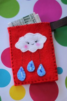 Handmade felt stocking stuffer for under $10. Get it at 50% OFF during the Thanksgiving weekend sales!