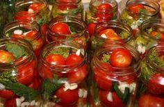 Совет, чтобы при консервировании томаты не лопались! 0