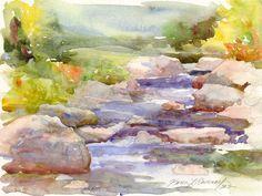 Karen Ramsay Watercolor Artist - Landscapes