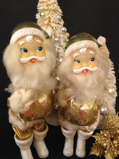 Masks vintage santa claus