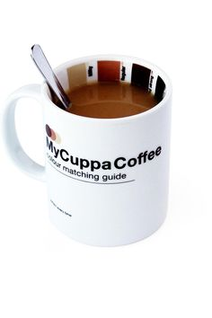 My Cuppa Coffee...@Zwee Nelson. Id totally get this for you, but I don't think there's a light enough color. Lol