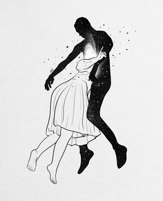 Couple Shadow, Painting Love Couple, Love Couple Wallpaper, Shadow People, Romance Art, My Fantasy World, Black And White Wallpaper, Couple Illustration, Abstract Line Art