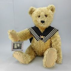 This large antique Steiff Teddy bear will be added to the Steiff Auction online catalogue pretty soon here: http://www.teddydorado.de/index.php/katalog.html?page=shop.browse&limit=25&limitstart=3125 — at Stadthalle Bonn-Bad Godesberg.