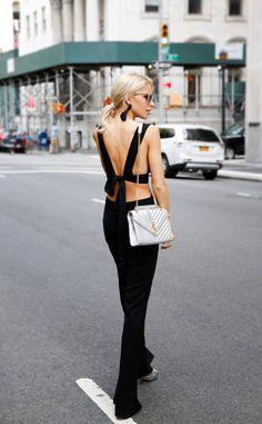 Caroline Daur from Street Style at New York Fashion Week Spring 2017