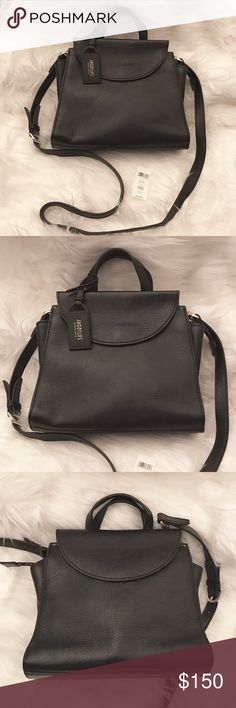 """Kate Spade Saturday ♠️ Black Mini A Satchel NWT Brand new with Tags included - *RARE* HTF Kate Spade Saturday ♠️ """"Mini A"""" satchel in black! Beautiful, never used, and of course not possible to buy anywhere! Offers are welcome, prices are always Flexible 😘💕👍🏼👛 kate spade Bags Mini Bags"""
