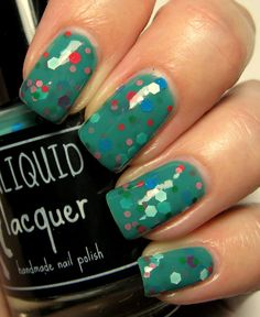 ALIQUID Lacquer - A Pun on Teal