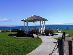 Shell Beach, CA.  The gazebo Bret & I were married in.  Yes, please!