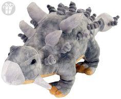 Wild Republic Ankylosaur Dinosaur Stuffed Animal, Plush Toy, Gifts for Kids, Dinosauria Toys For Little Kids, Realistic Stuffed Animals, 3 Gif, Largest Dinosaur, Prehistoric Animals, T Rex, Pet Toys, Cuddling, Gifts For Kids