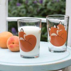 Verre renard - Rusty the fox