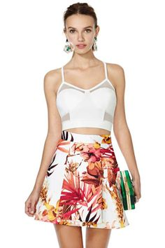 Cameo Stepping Stone Skirt
