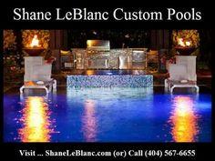 Custom Pools, Pool Builders, Swimming Pools, Atlanta, Table Decorations, Luxury, Videos, Youtube, Blog