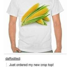 It took a few seconds to catch my breath. This is the only crop top that needs to be sold, hands down.