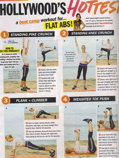 boot camp for flat abs