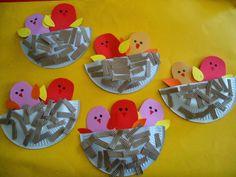 Προσχολική Παρεούλα : Τα πουλιά και οι φωλιές ...