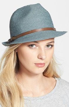 Nordstrom+'Stone+Washed'+Fedora+available+at+#Nordstrom