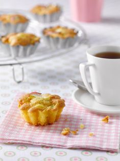 Dessert Weight Watchers, Petit Cake, Muffins, Stevia, Macaroni And Cheese, French Toast, Good Food, Pudding, Fruit