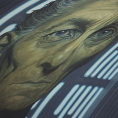 'Dead Father Figure', From my Star Wars-inspired series SANDSTORM. 2013