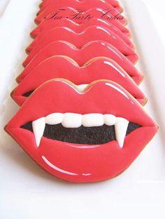 Trendy Birthday Party Ideas For Teens Girls Sugar Cookies Fall Cookies, Iced Cookies, Cute Cookies, Royal Icing Cookies, Holiday Cookies, Cupcake Cookies, Cupcakes, Pillsbury Halloween Cookies, Halloween Cookies Decorated