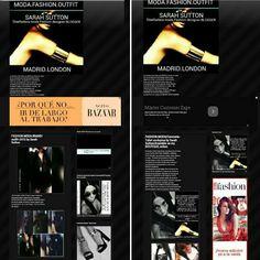 Harper Bazaar y Hola fashion en mi blog moda-Madrid blogger Sarah Sutton.