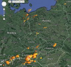 Gdzie jest burza? Sprawdź aktualną mapę burzową Polski. Nasz radar burz aktualizowany jest na okrągło. Najnowsze informacje burzach w Polsce NA ŻYWO!