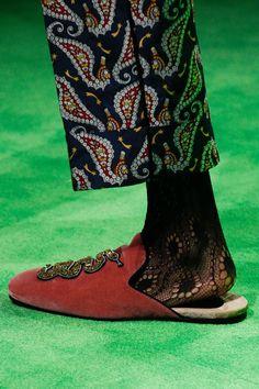 Gucci Spring 2017 Menswear Fashion Show Details - those shoes