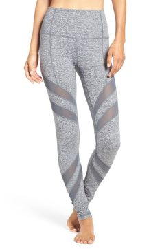 Zella 'Splice it Up' High Waist Leggings available at #Nordstrom