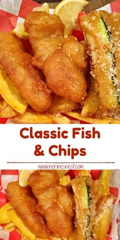 Classic Fish And Chips Tender Chunks Of Cod In A Flavorful Batter With Oven Fried Chips And Fried Zucchini Spears It 39 S The Best Copy Cat Long John Silvers Recipe Crispy Deliciousness Cod Fish Recipes, Fried Fish Recipes, Seafood Recipes, Cooking Recipes, Fried Haddock Recipes, Recipes For Cod, Best Fish Recipes, Walleye Fish Recipes, Cooking Ham