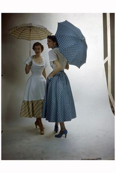 Parasol 1950's Photo Nina Leen