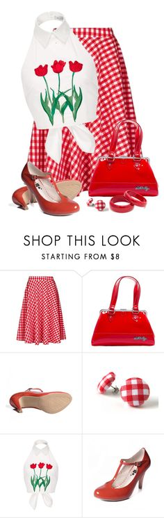 """Bobbie Joe"" by dkelley-0711 ❤ liked on Polyvore featuring Louche, Bettie Page, VIVETTA, Retrò and etsy"