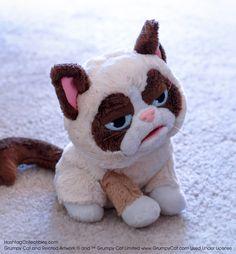 Grumpy Cat hand puppet