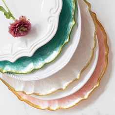 Pastel Glass Service Plate/Charger, Pistachio and Matching Items by Vietri at Horchow. Light Texture, Charger Plates, Dinnerware Sets, Serving Plates, Glass Collection, Salad Plates, Pistachio, Pastel, Tableware